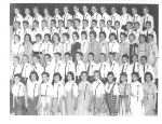 Horace Mann June 1958 Graduation Photo - from Evelyn Gravesen Keever