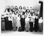 Horace Mann January class 5B Feb 1954 - submitted by Lois Yalowitz Moss