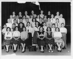 Horace Mann January class 6B March 1955 - submitted by Lois Yalowitz Moss